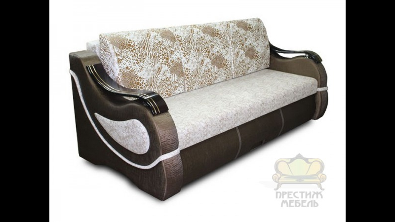 Прямой диван 216 Металлокаркас