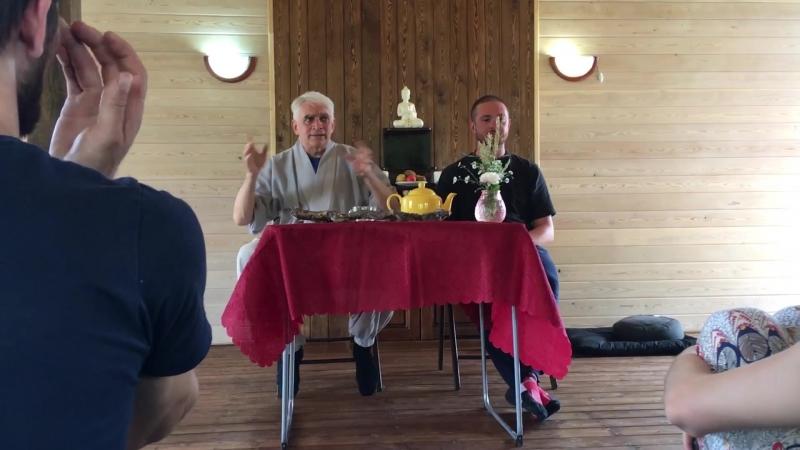 Речь Дхармы, Олег Шук JDPSN, Тихая Гавань, Июль 2018
