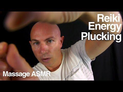 ASMR Reiki Energy Healing Plucking Role Play