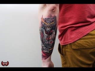 Салон Elite Tattoo мастер Александр Карандэйс