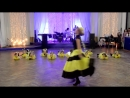 Детки 3-6 лет. Яркий танец веселые пчелки