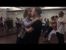Bachata с Аланом Эуфор, фрагмент занятий, школа танцев Держи Ритм