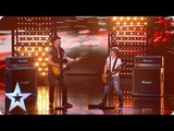 Dream dad and son combo Jack and Tim WOW everyone at the Semis! Semi-Finals BGT 2018
