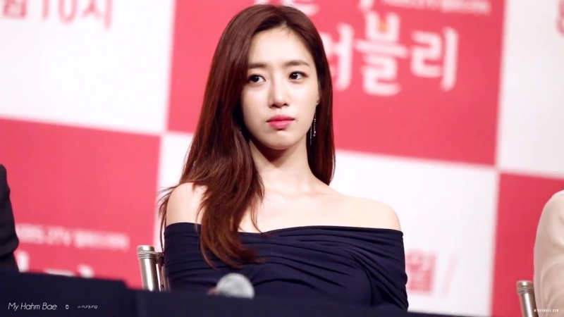 180809 Eunjung - KBS drama Loverly Horribly Press Conference
