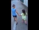 Детская любовь, она такая😇🙈🌊