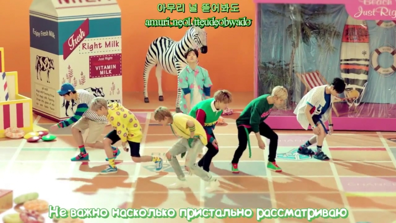 FSG StarLand GOT7 Just right Рус с Hangul 720p mp4