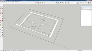 Создаем 3D модель квартиры по чертежу cjplftv 3d vjltkm rdfhnbhs gj xthnt;e