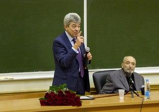 В.И.Гафт на истфаке МГУ