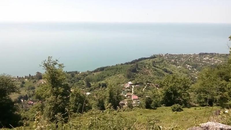 Абхазия Часть 5 Подъем на Анакопи́йскую кре́пость