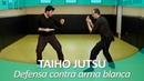 TAIHO JUTSU 12 sistema japonés defensa personal policial Técnica contra arma blanca por agente
