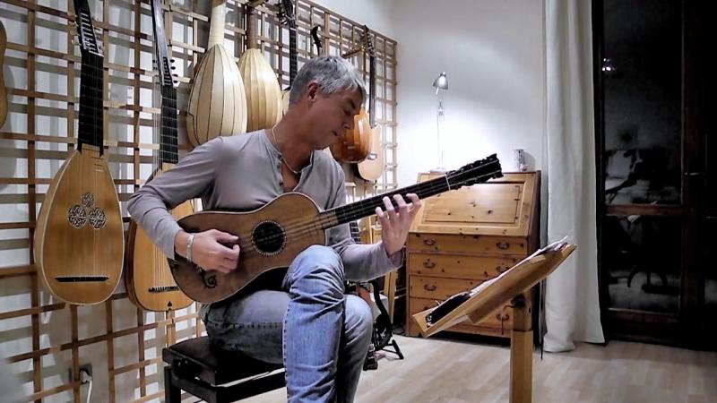Rolf Lislevand Stradivari Sabionari guitar