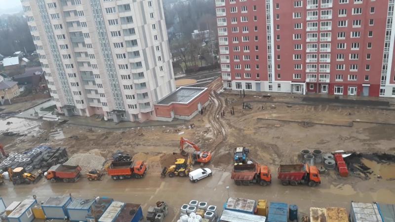 6 квартал со стороны Покровской.