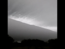 Big roll cloud over Arroyo Urquiza, Argentina on April 7