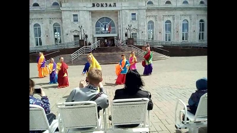 Школа Танца Мириям танцует на Дне Города 2018г на Привокзальной площади