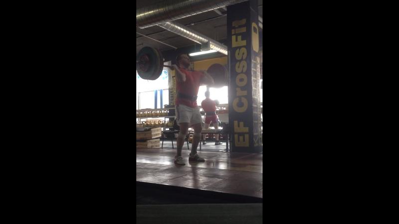 Толчок классический 130 кг.