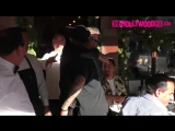 December 4: Video of Justin leaving Il Pastaio with Mohamed Hadid in Beverly Hills, California.