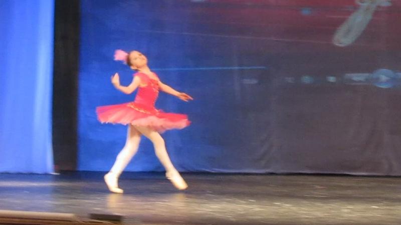 Вариация Армиды из балета Армида. Дина Кейш, 10 лет.