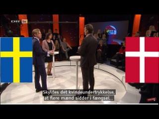 Denmark vs. Sweden: Feminism and gender equality (ENG subs)