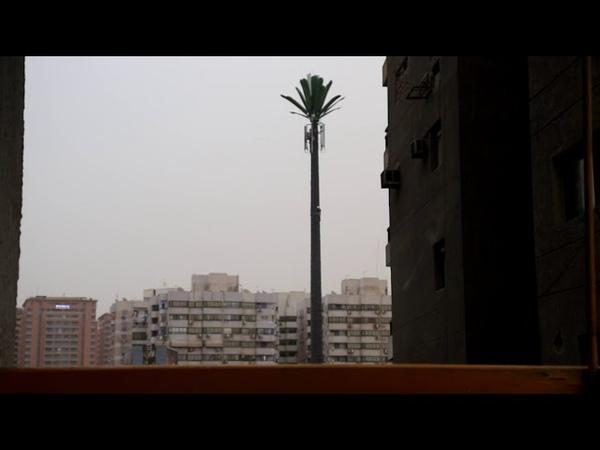 Работники высотники в Египте Каир