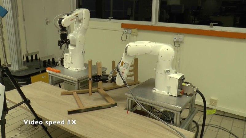 Роботы научились собирать стул из IKEA