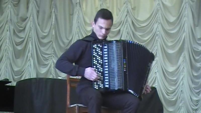 Димитриевич Стефан Сербия 1 место IV Всероссийский конкурс им В Гридина