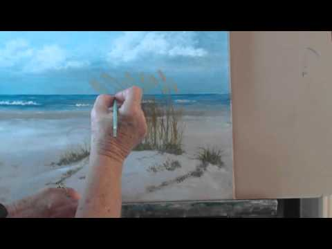 How to Paint a Beach Scene in Oils Session 8