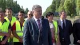 Президент вдкрив рух на вдремонтованй длянц траси Н-08 Бориспль-Днпро-Запоржжя-Маруполь