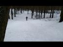 Сори.парк. Первый раз на лыжах.20.01.18