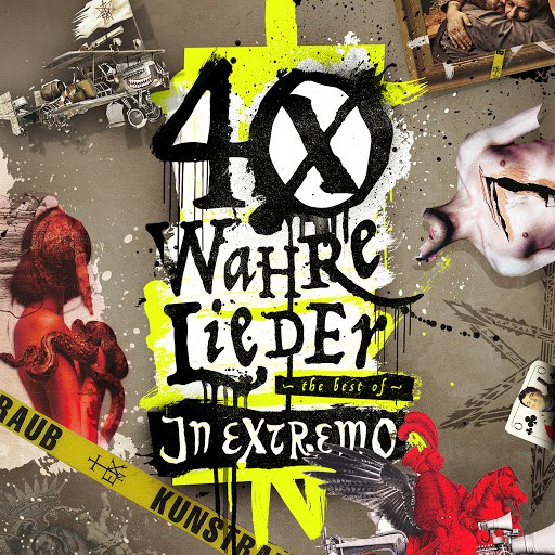 In extremo альбом 40 wahre Lieder - The Best Of