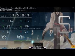 Falcom Sound Team jdk - Gin no Ishi [Nightmare] HDDT S