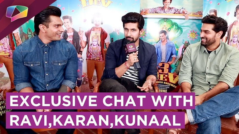 Репортаж с Karan Singh Grover, Ravi Dubey Kunaal Roy Kapur