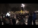 2)Открытие ёлки в городском парке СемьЯ - Рождественская ночь 25.12.2017 (Нижнекамск)