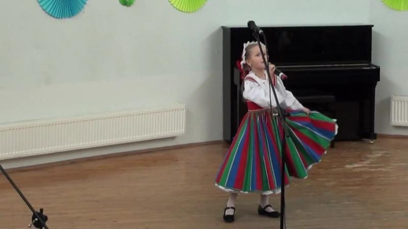 Маша Штейникова с песней Рулатэ на 40 летие Костомукшского общества друзей Финля