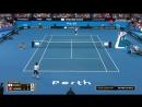 Roger Federer SUI vs Y Sugita JPN Hopman Cup 2018 HD