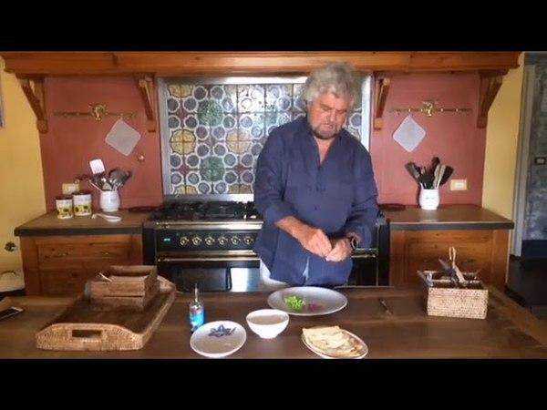 Le ricette di Beppe Grillo tonno e schiacciatina toscana