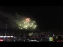 Фейерверк у Планеты на день города г Новокузнецк-400,2018 год