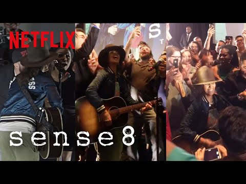 Sense8: The Series Finale | Linda Perry What's Up Surprise Performance | Netflix