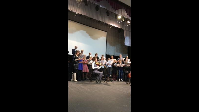 Репетиция. Оратория «Пять ангелов». Концерт состоится 14 ноября в 19:00 а КЗФ