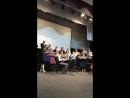 Репетиция. Оратория «Пять ангелов». Концерт состоится 14 ноября в 1900 а КЗФ