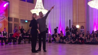 Artem Dmitiev and Olga Khvan WCS Nordic Championships Strictly finals 2nd place - Blues