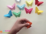 Бабочки из бумаги!