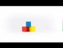Кубики Томик 20 элементов Цветные