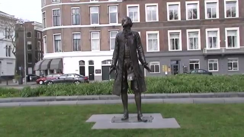 The monument to Peter The Great in Rotterdam. LGBT TRAVELS © Copyright.