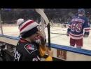 Российский хоккеист Павел Бучневич исполнил мечту парня