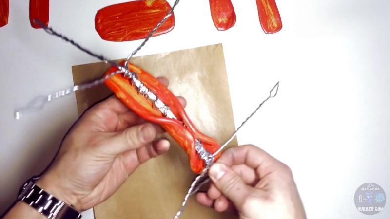 Изготовление кукол на каркасе из Резинового Пластилина