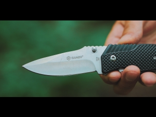 Заточка ножей Ganzo из коробки.