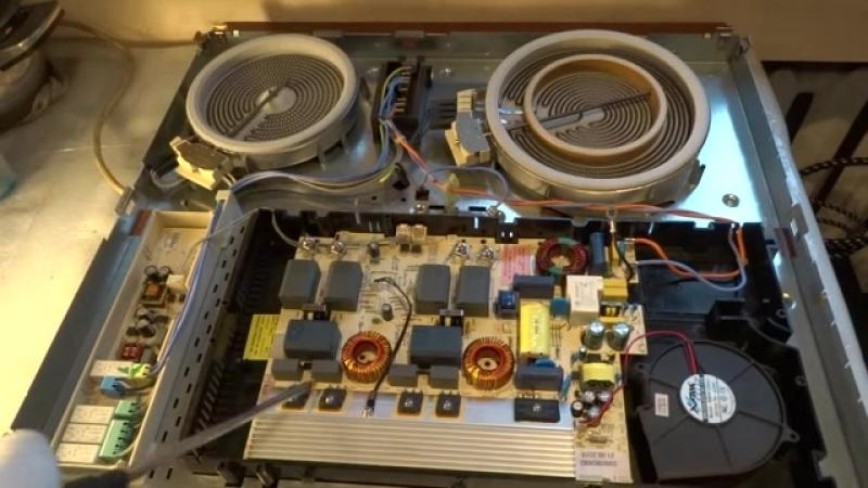 Гибридная варочная панель Electrolux