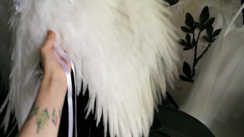 Крылья ангела пушистые ЛисьяМастерская