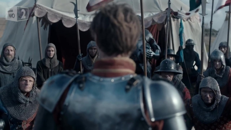 Richard III and Richmond rally their troops for battle - The Hollow Crown_ Episo