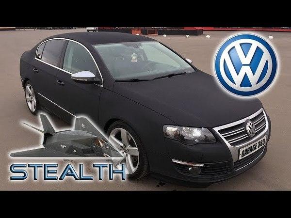 Владельцам Volkswagen Passat B6 ЭТО НАДО ПОСМОТРЕТЬ | Проект СТЭЛС | Покраска Raptor U-POL
